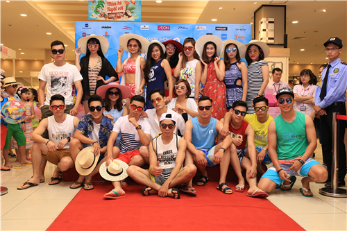 Fashion Show HELLO SUMMER khấy động EAON MALL Long Biên ngày 16/04/2017